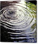 Rain Barrel Canvas Print