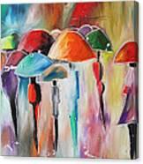 Rain City Canvas Print
