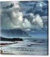 Rain Clearing Kaneohe Bay Canvas Print