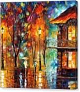 Rain Energy Canvas Print