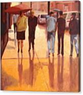 Rain In Manhattan Number Eighteen Canvas Print