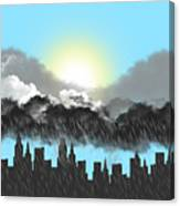 Rain On A Sunny Day Canvas Print