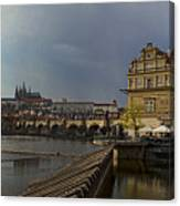 Rain Over Prague Canvas Print