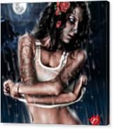 Rain When I Die Canvas Print