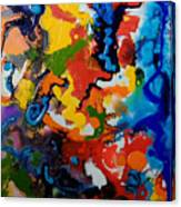 Seahorse Emerging Canvas Print