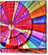 Rainbow Balloon Canvas Print