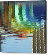 Rainbow Bandshell Reflection Canvas Print