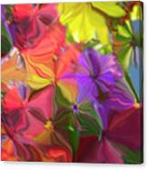 Rainbow Bouquet Canvas Print