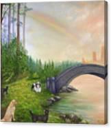 Rainbow Bridge Canvas Print