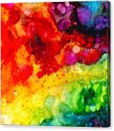Rainbow Bubbles Canvas Print