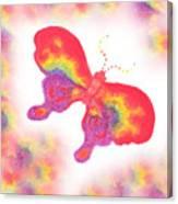 Rainbow Buterfly Canvas Print