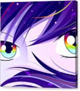 Rainbow Eyes Canvas Print