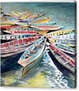 Rainbow Flotilla Canvas Print