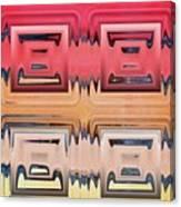 Rainbow Glass Canvas Print