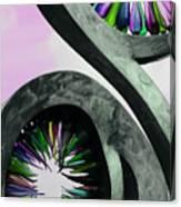Rainbow Glass Magic Canvas Print