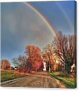 Rainbow Hdr Canvas Print