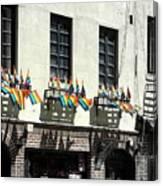 Rainbow History Canvas Print