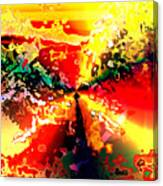 Rainbow Horses Canvas Print