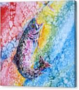 Rainbow Hunter Canvas Print