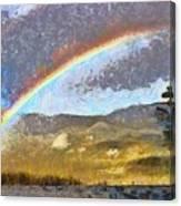 Rainbow - Id 16217-152046-6654 Canvas Print