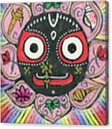 Rainbow Jagannath Canvas Print