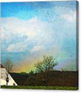 Rainbow Landscape Canvas Print
