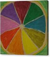 Rainbow Lemon Canvas Print
