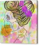 Rainbow Mrs. Canvas Print