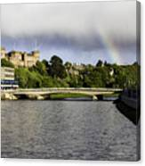 Rainbow Over Inverness Canvas Print