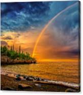 Rainbow Point Canvas Print
