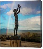 Rainbow Reach To The Sky  Canvas Print