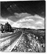 Rainbow Road - Id 16217-152021-8918 Canvas Print