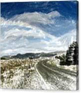Rainbow Road - Id 16217-152040-7206 Canvas Print