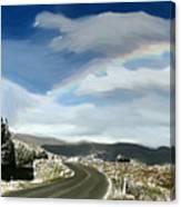 Rainbow Road - Id 16217-152042-9570 Canvas Print