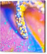 Rainbow Spell And Starfish Canvas Print