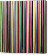 Rainbow Stripe Canvas Print