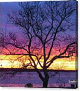 Rainbow Sunset Canvas Print