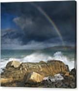 Rainbow To Heaven Shamrock Shores  Canvas Print