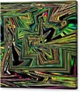 Rainbow World On A Clear Day Canvas Print