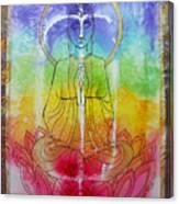 Rainbowbuddha Canvas Print