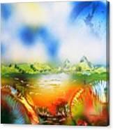 Rainbowland  Canvas Print