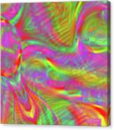 Rainbowlicious Canvas Print
