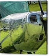 Raindrops On A Cessna - 2018 Christopher Buff, Www.aviationbuff. Canvas Print