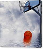 Rained Out Game Canvas Print