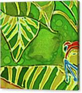 Rainforest Buds Canvas Print