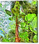 Rainforest Green Canvas Print