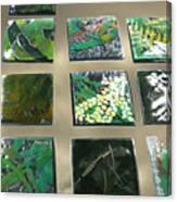 Rainforest Tile Prints Canvas Print