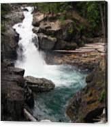 Rainier Waterfall Canvas Print