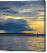 Rainstorm Offshore Canvas Print