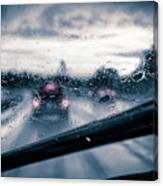 Rainy Day In July Canvas Print